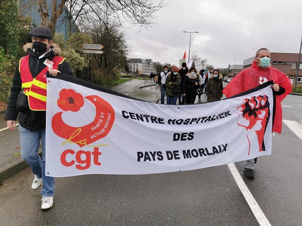 Manif USD CGT 29 à Landerneau
